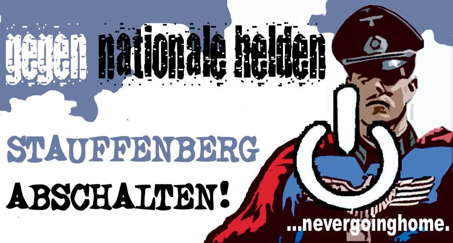 Anit-Stauffenberg-Transparent